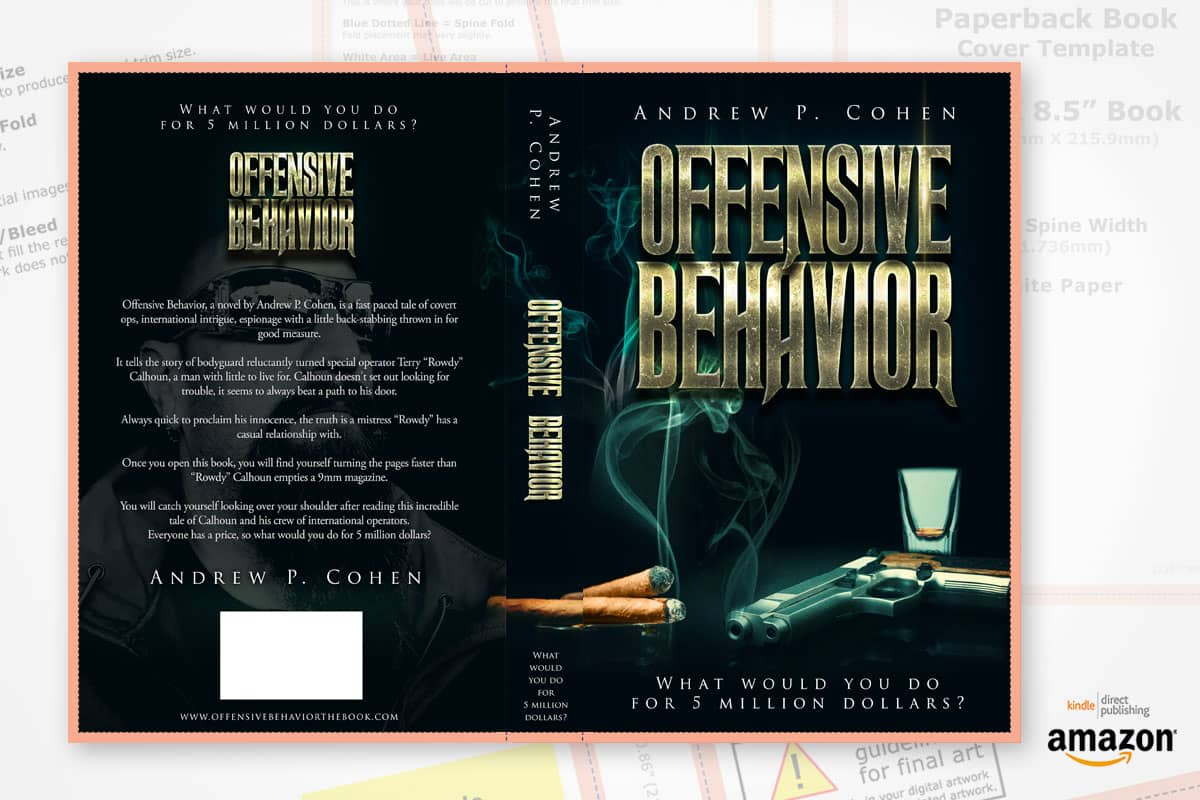 book cover redesign offensive