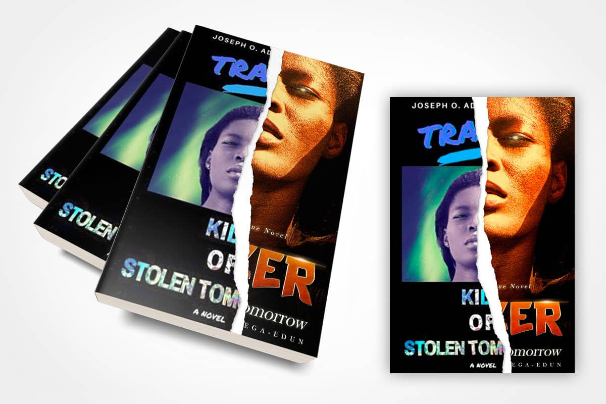 book cover redesign trazer