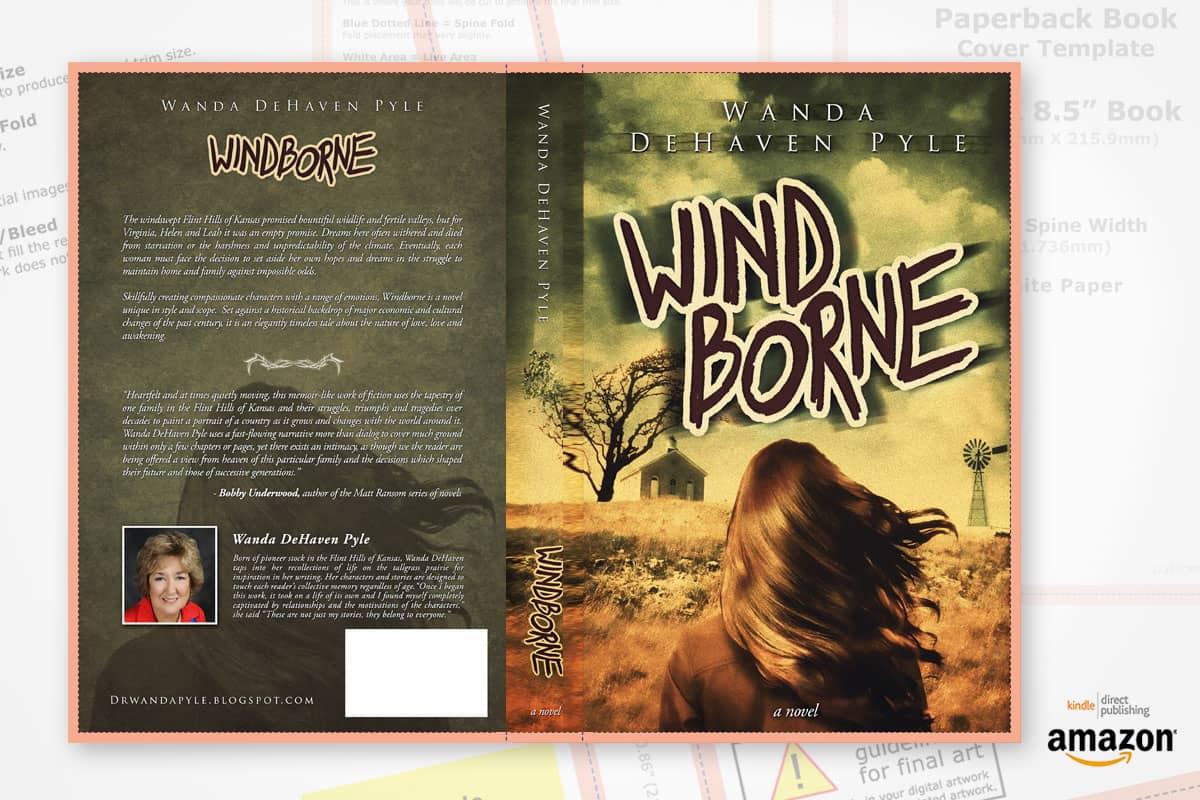 book cover redesign windborne