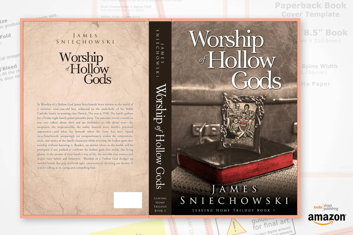 book cover redesign worship