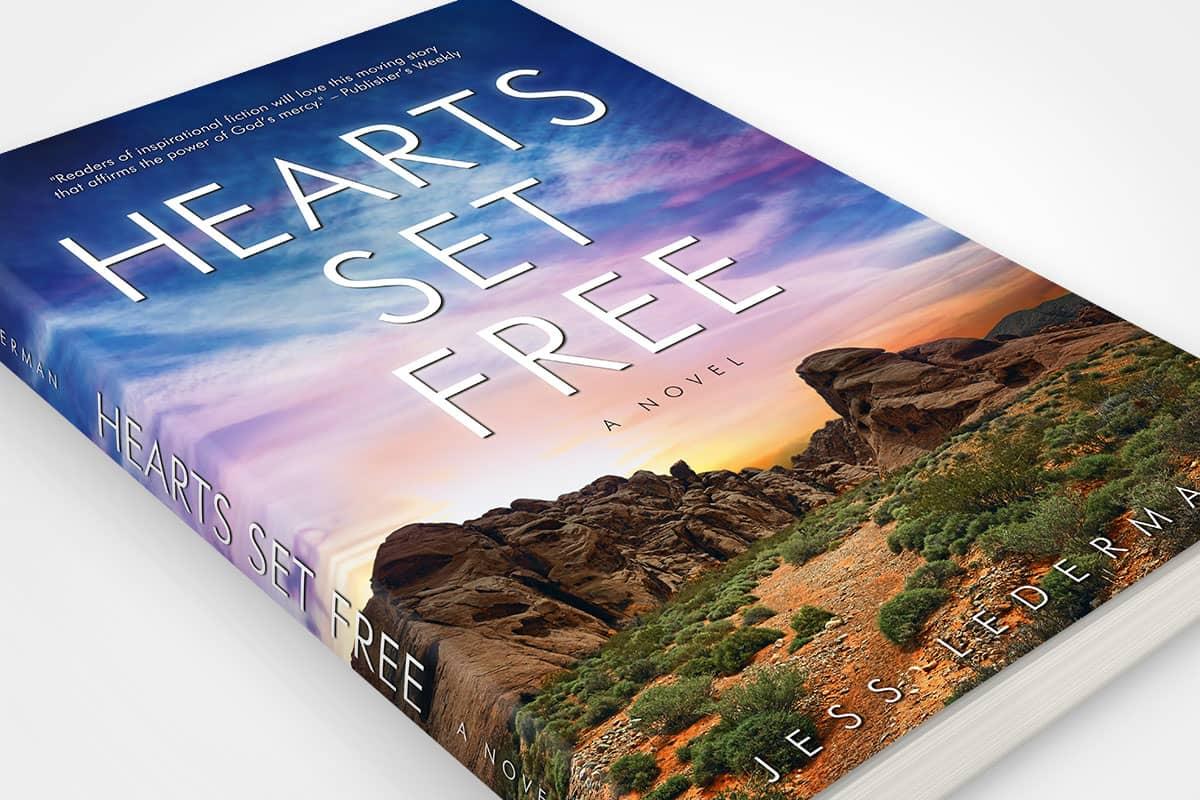 book cover redesign jess lederman hearts set free